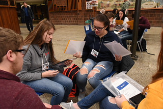 Thu, 11/15/2018 - 12:29 - Photograph from the Disrupting Poverty simulation, courtesy of GCC