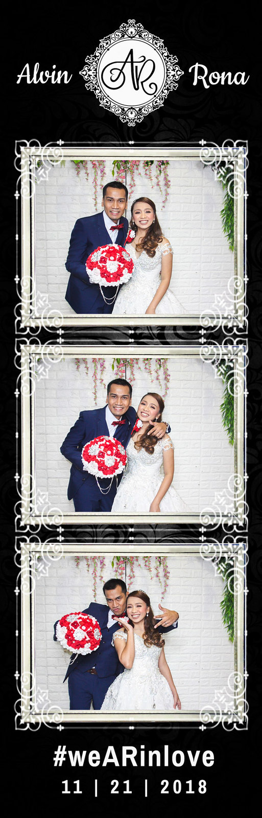 Alvin & Rona Wedding (Photo Strip)