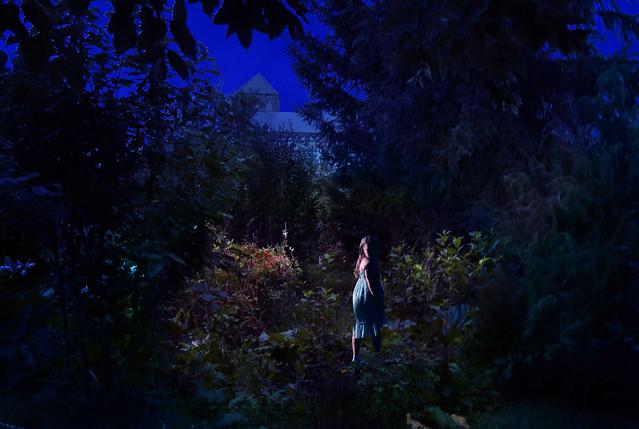 Night walk of a, Nikon COOLPIX L830