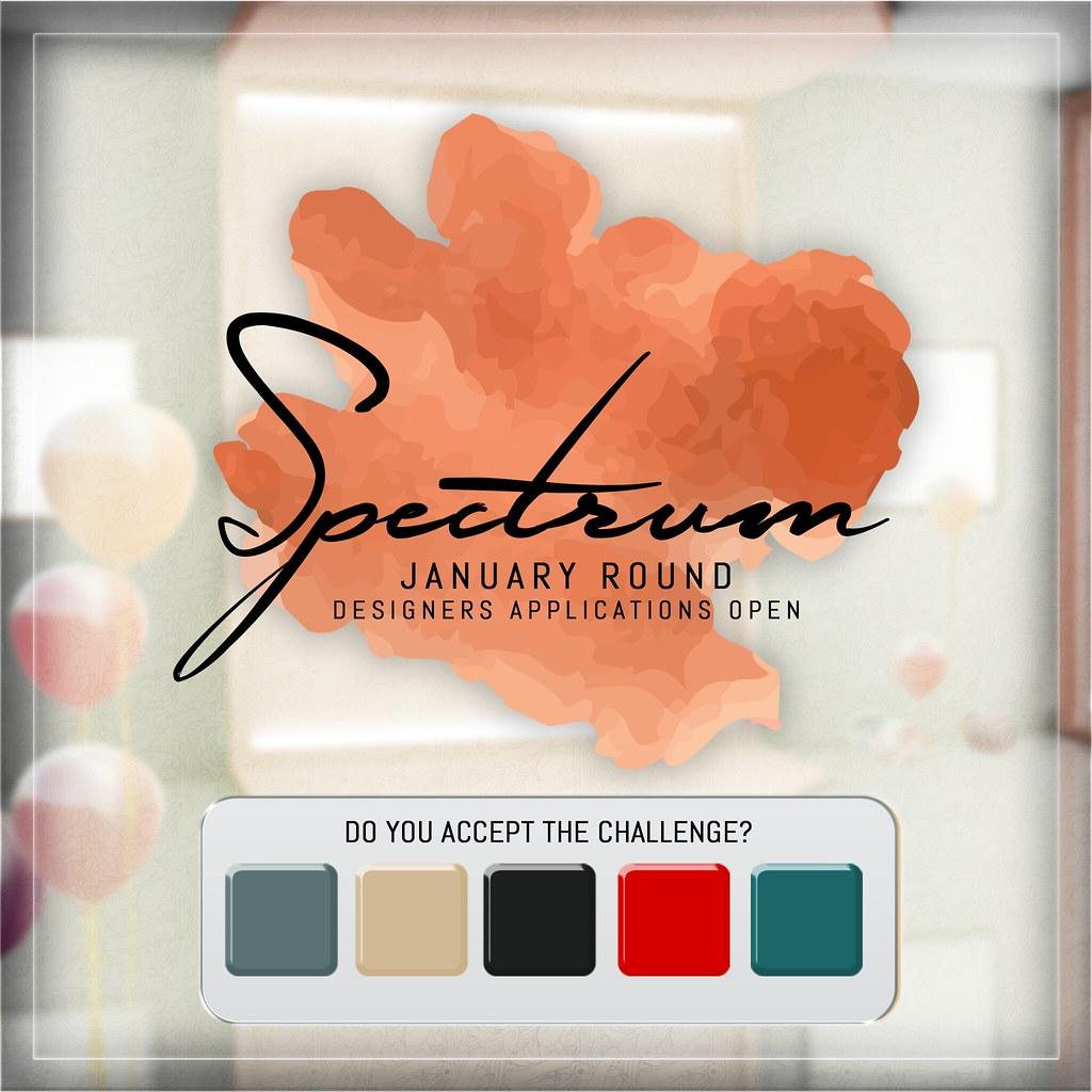 +Spectrum Event+ // 2# ROUND // Designer Apps open!! - TeleportHub.com Live!