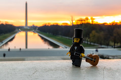 Lincoln at sunrise