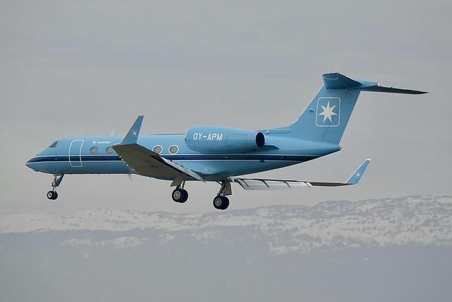 OY-APM Gulfstream G-IV, G-450, Sony DSC-RX10M3, Sony 24-600mm F2.4-4.0