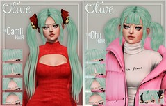 .Olive. the Camii & Chu Hair @ Notice me Santapai