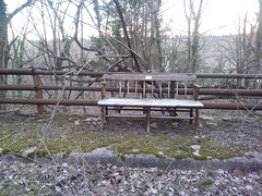 Bench presented to Wood Acres School in May 1977