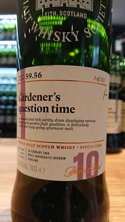 SMWS 59.56 - Gardener's question time