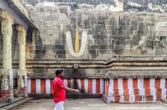 At the Varadaraj Peruman Temple