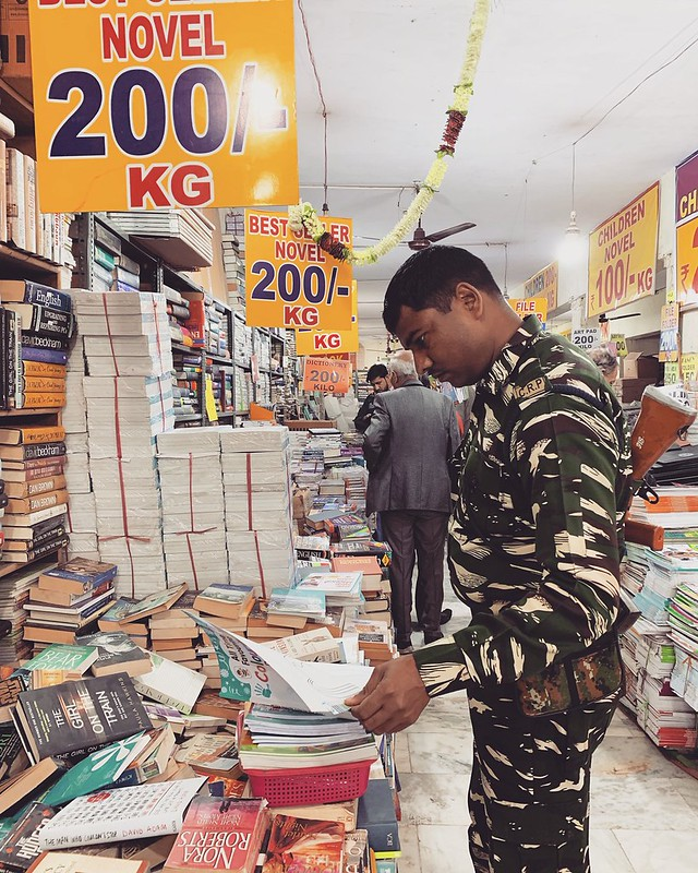 City Moment - Guns 'N Books, Central Delhi