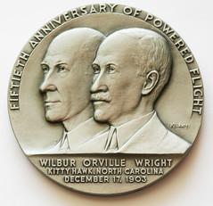 alcoa aluminum medal obverse