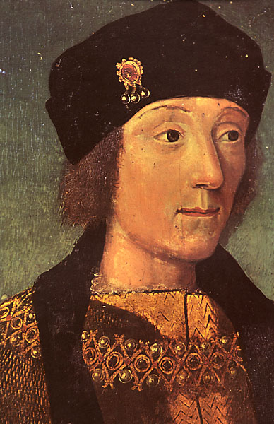 Young Henry VII, by a French artist. Currently in the collection of Musée Calvet in Avignon, France.