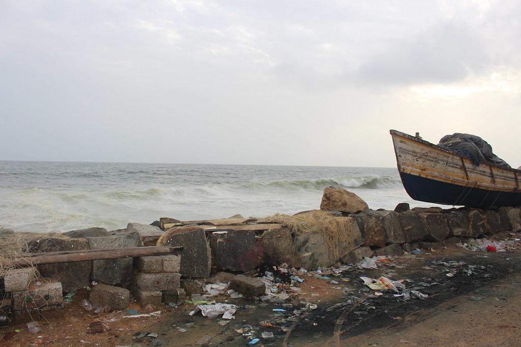 photo of seawall
