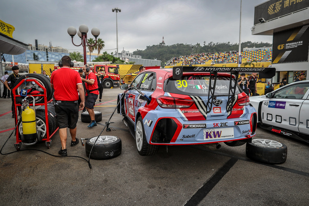 30 TARQUINI Gabriele, (ita), Hyundai i30 N TCR team BRC Racing, action during the 2018 FIA WTCR World Touring Car cup of Macau, Circuito da Guia, from november  15 to 18 - Photo Alexandre Guillaumot / DPPI