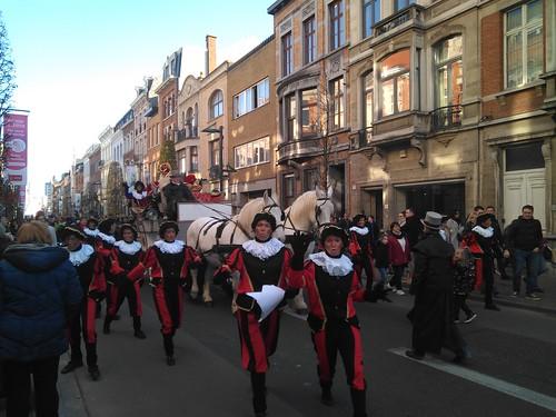 Sinterklaas llega a Lovaina