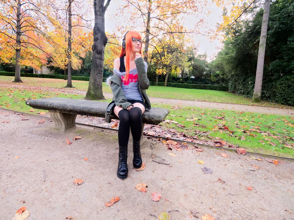 related image - Shooting Persona 5 - Futaba Sakura - Jardin de la Magalone -2018-11-10- P1388586