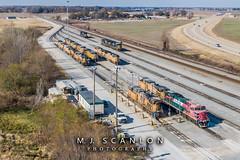 FXE 4644 | GE ES44AC | UP Marion Intermodal Railport
