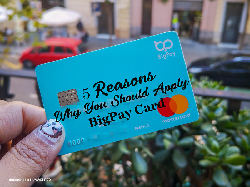 BigPay Card Cover