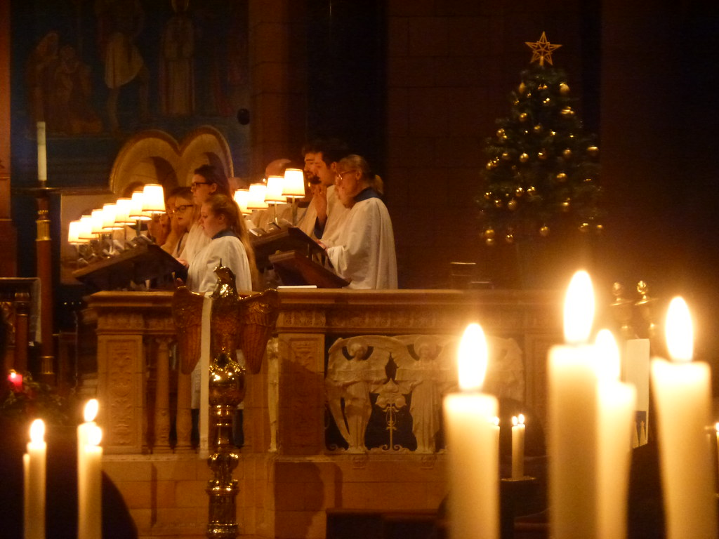 Midnight Mass at The Church of St James Leicester | Midnight