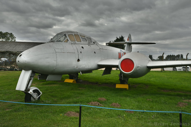 Gloster Meteor T.7 (VZ634), Nikon D7500, Sigma 10-20mm F4-5.6 EX DC HSM