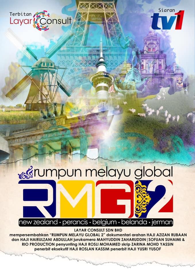 Poster Rumpun Melayu Global Musim 2 Di Tv1