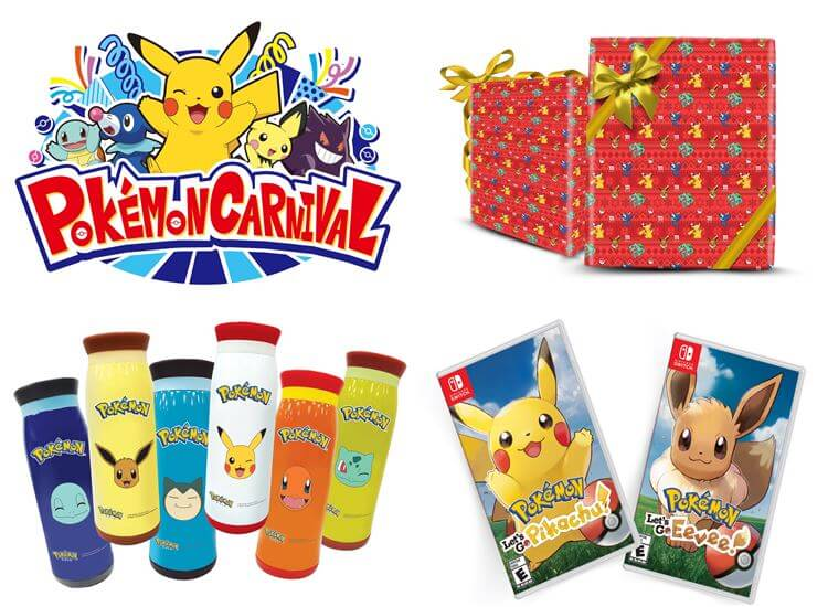 Pokémon themed carnival games