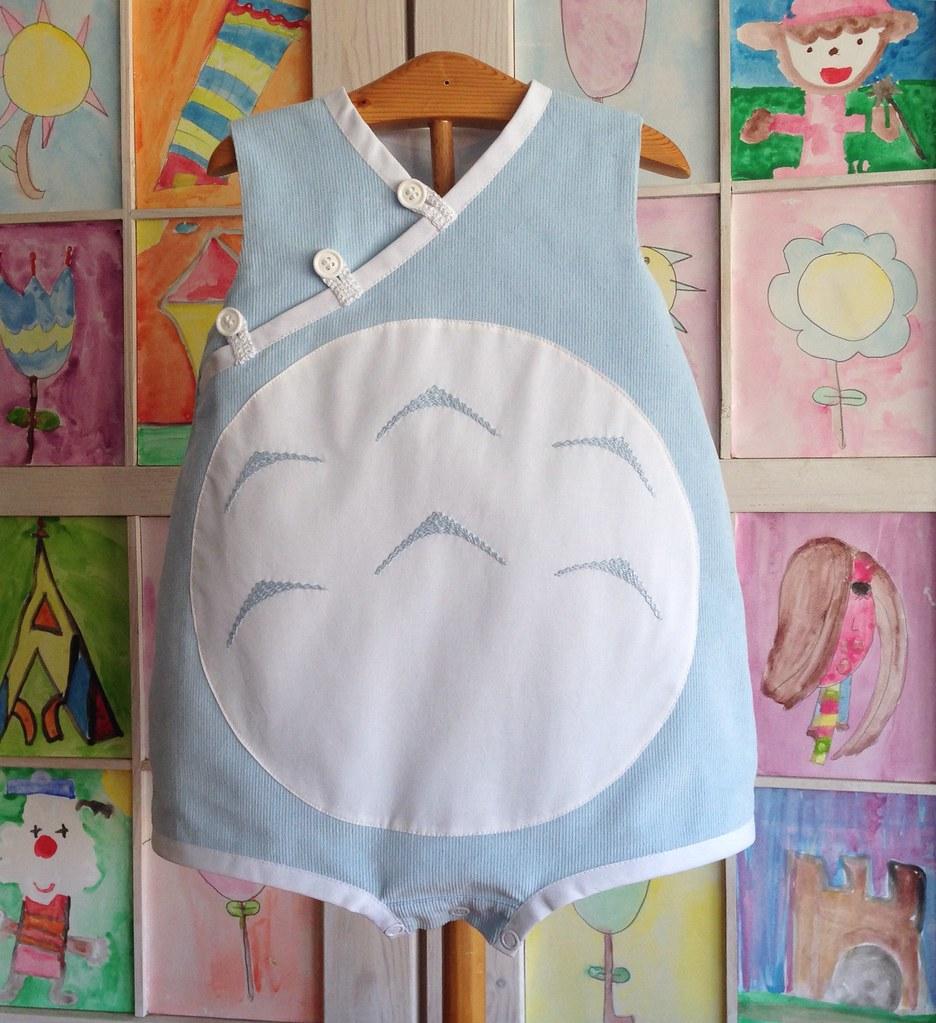 Totoro romper- ranita totoro