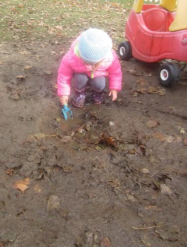 mud, mud, I love mud!
