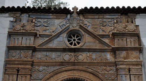 Pájara (Fuerteventura-Canarias-España). Iglesia. Portada. Detalle