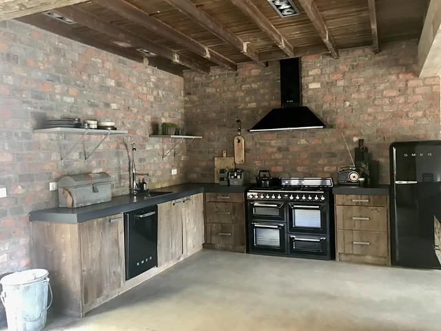 Stoere keuken jaren '30 woning