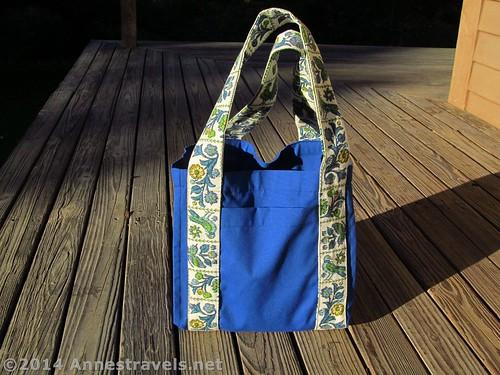 My Water Bottle Tote Bag I sewed myself (diy)
