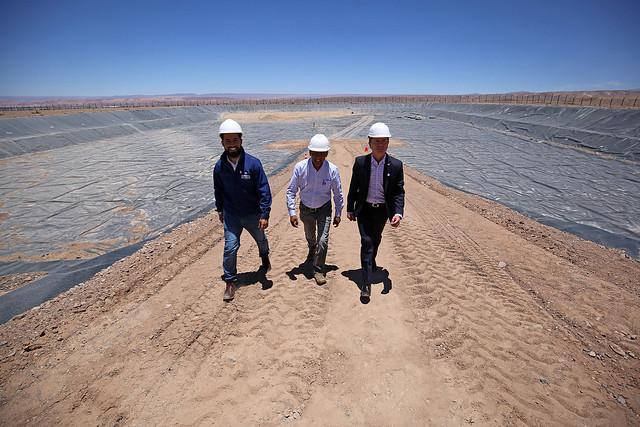 Subsecretario Salaberry participa en la inauguración de relleno sanitario en San Pedro de Atacama | 29.11.18