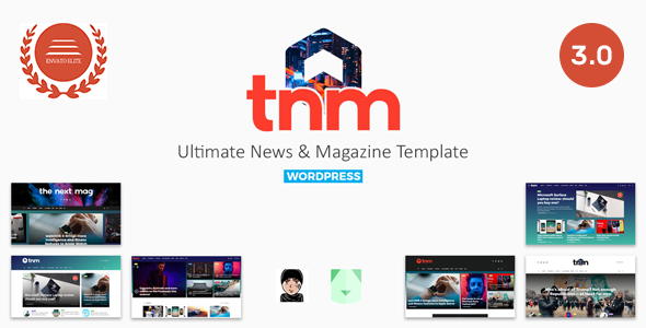 The Next Mag v3.0 – Ultimate Magazine WordPress Theme