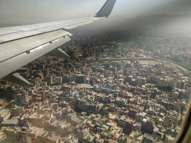 Approche de Katmandou