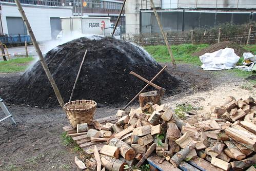 Txondorra piztu dute Markina-Xemeinen (2018-12-14