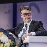 Joachim Drees during the plenary session 1 at IRU World Congress
