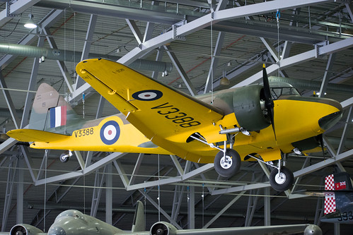 Airspeed Oxford at the IWM Museum, Duxford