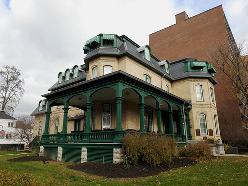 The Laurier House (1878) in Sandy Hill, Ottawa, Ontario