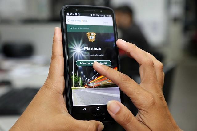 Mais de 8,8 mil pessoas já solicitaram serviços pelo 'Manaus+Luz'