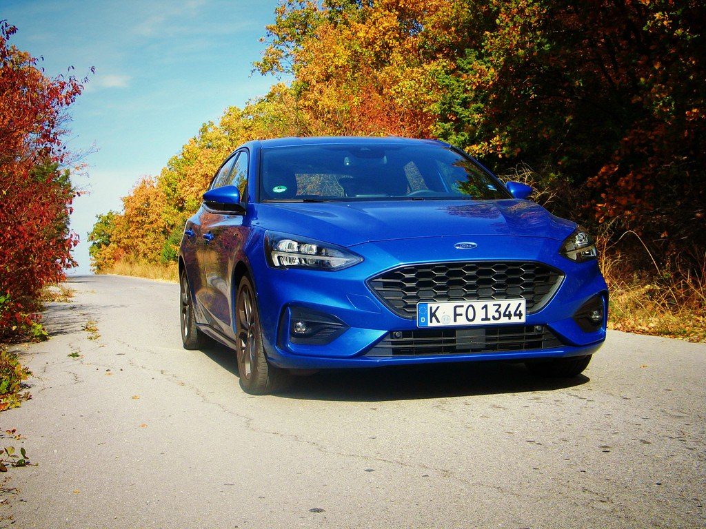 Ford Focus 1.5 EcoBoost EcoLine test 27am#