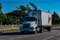 Truck Spotting, Runaway Bay Jamaica.