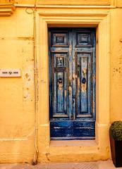 Bue Door in Valletta