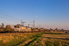 19 novembre 2018  BB 7349-7369  Train 489870 Miramas -> Bordeaux-Hourcade Lamothe-Landerron (33)