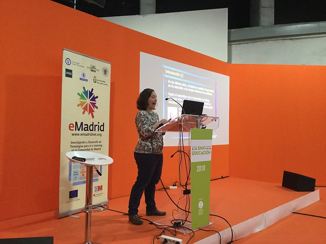 14_11_2018 Sesión especial de eMadrid en SIMO EDUCACIÓN 2018