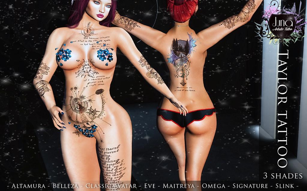 Taylor tattoo - TeleportHub.com Live!