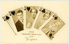 Season's Greetings from the Dé Lardis, 1938