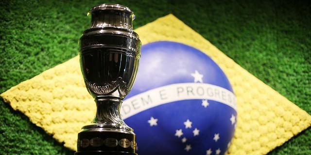 Enquanto a competição não começa, o troféu do campeonato está exposto no Museu da Seleção Brasileira, na sede da CBF - Créditos: CBF