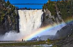 Montmorency Falls, Quebec, Canada.