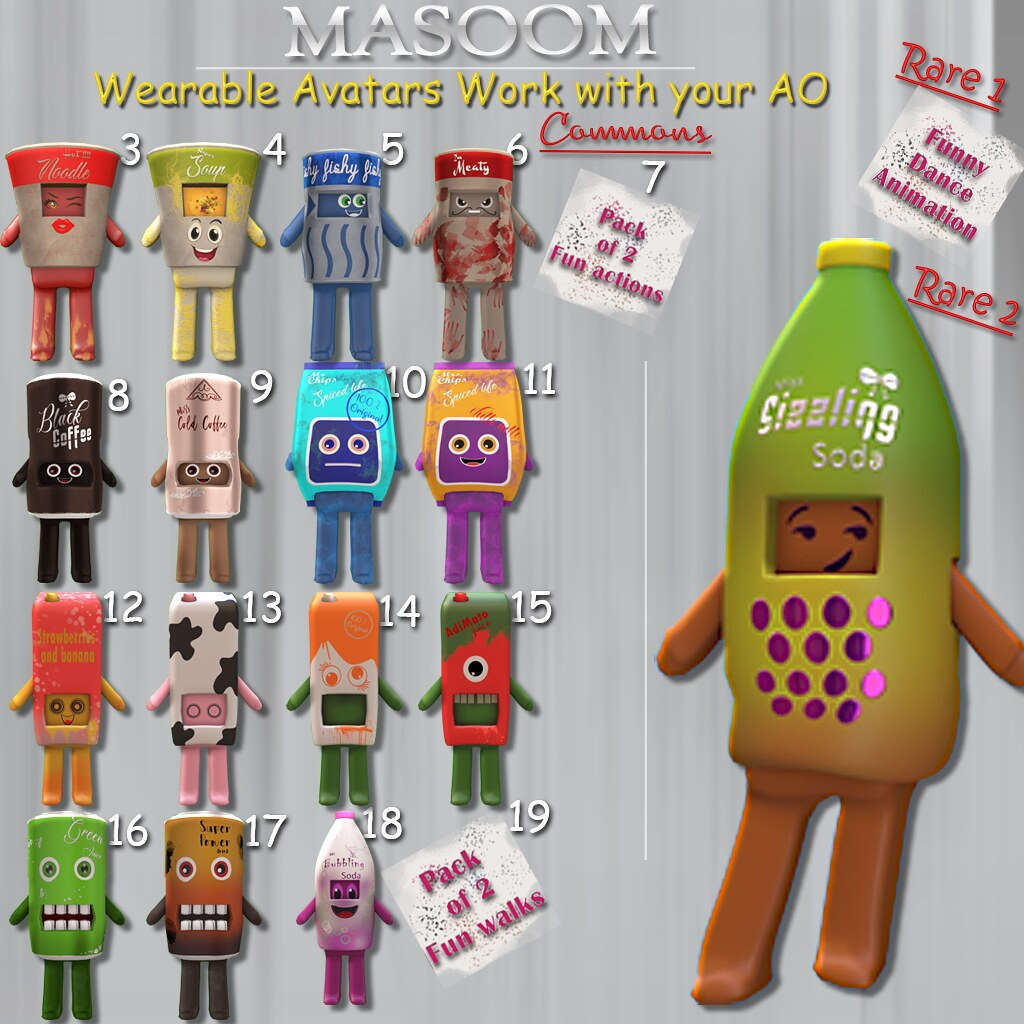 [[ Masoom ]]Fun avatars @ Arcade