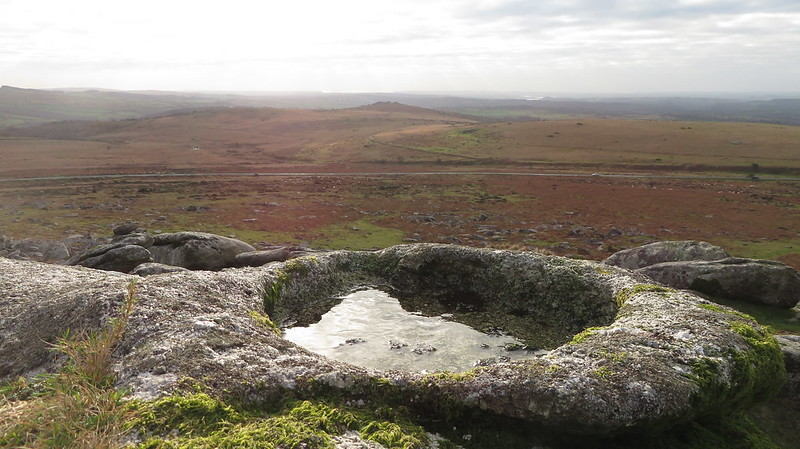 Little Staple Tor rock basin