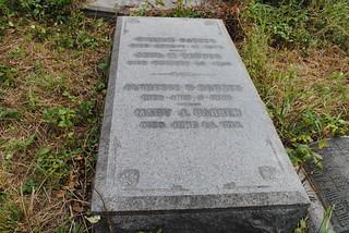 William Barber gravestone