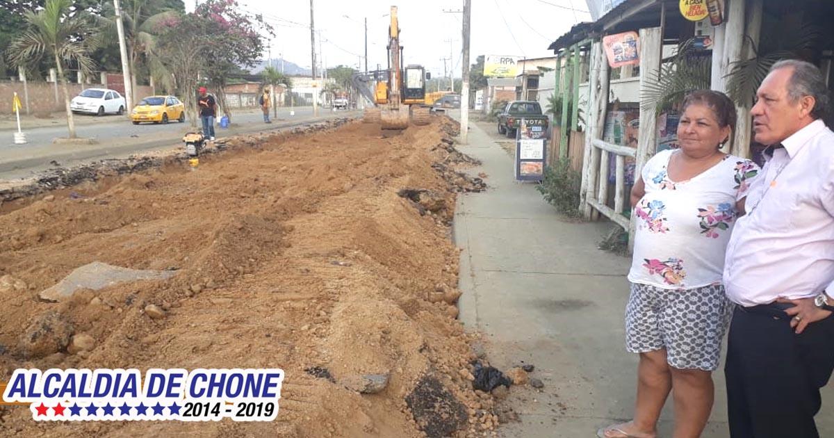 Iniciaron los trabajos de la avenida Eloy Alfaro