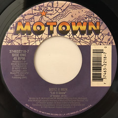 BOYZ II MEN:LET IT SNOW(LABEL SIDE-A)